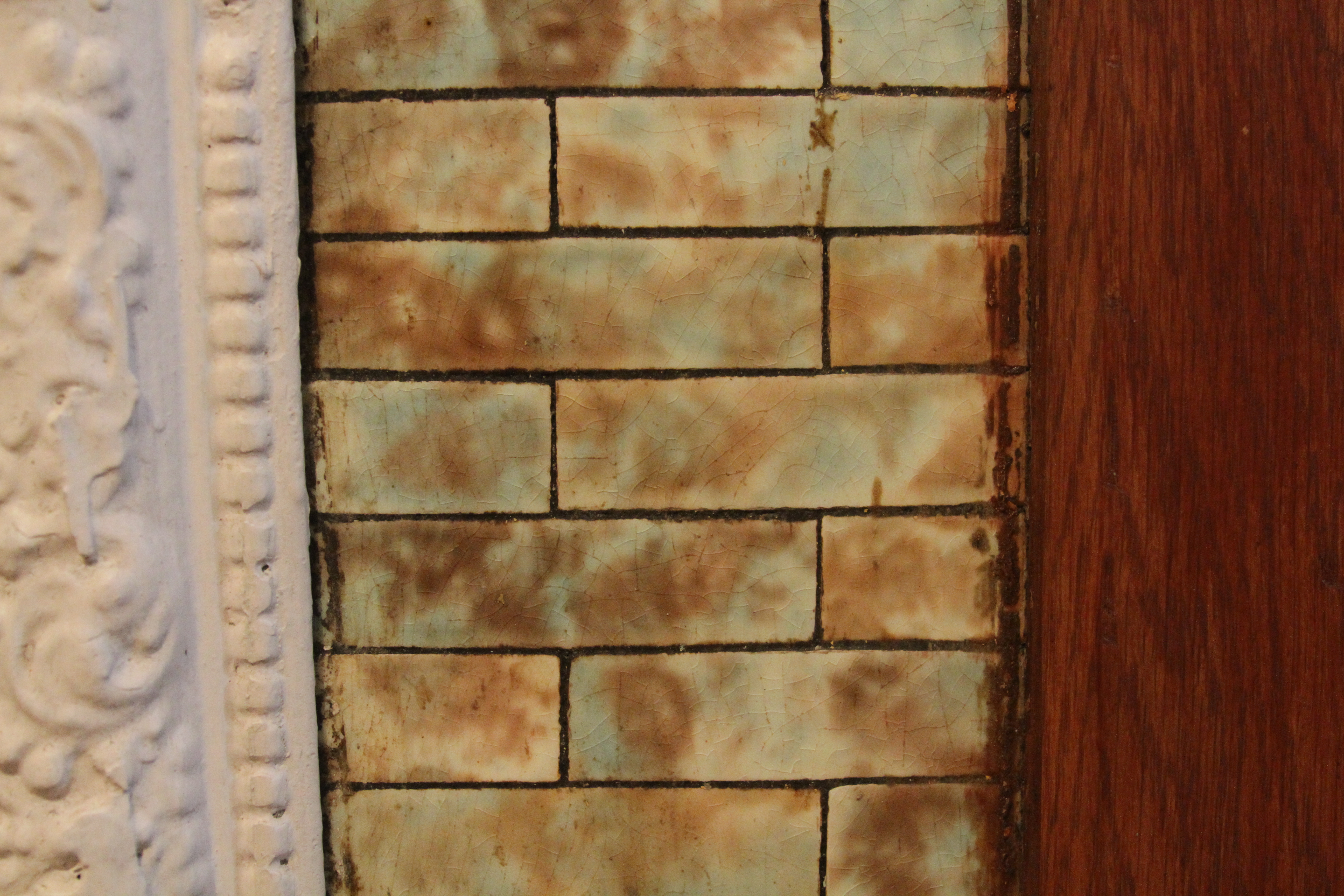 fireplace tile clean up a pink brownstone in brooklyn