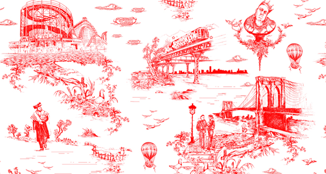 BROOKLYN TOILE