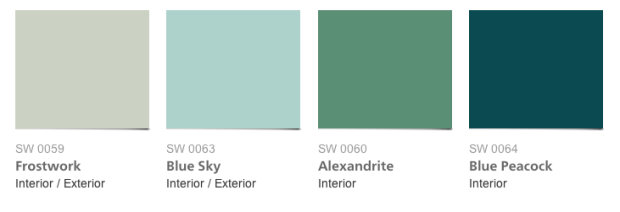 Sherwin Williams Jazz Age colors