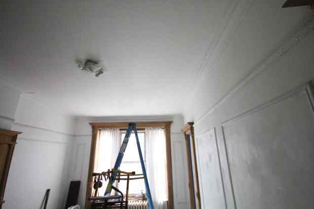 20 Bedroom New Celining Primed