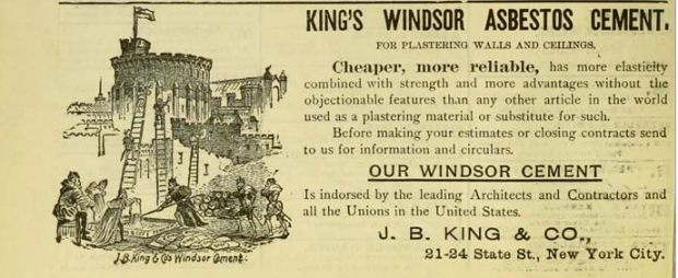 King's Windsor Asbestos Cement