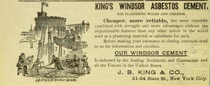 King's Windsor Asbestos Cement