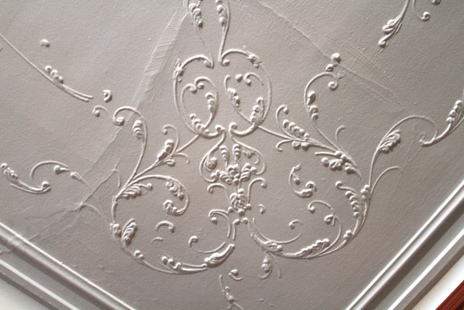 Parlor Ceiling Detail