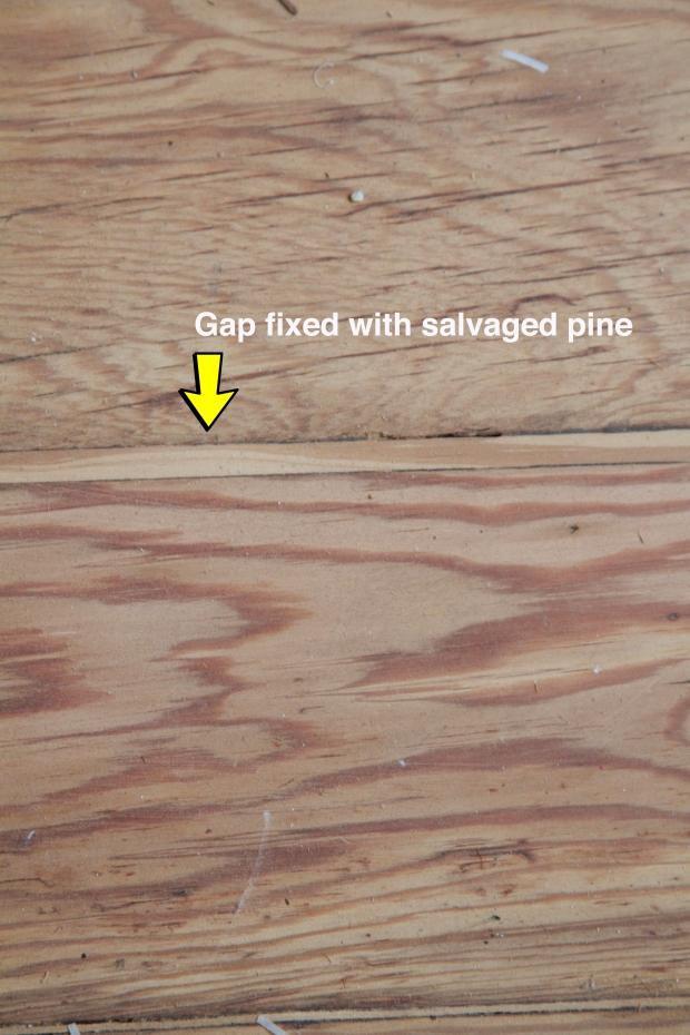 Floor first sanding
