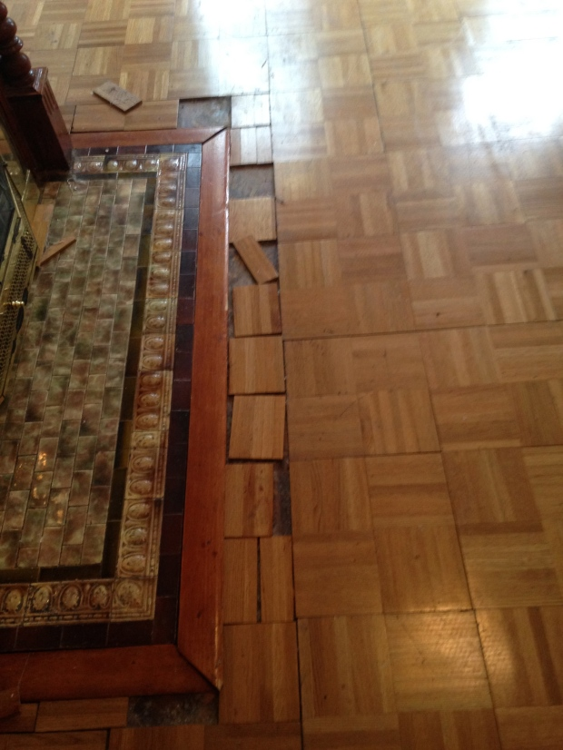 Floor before datail