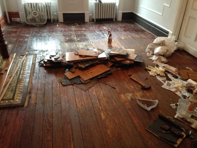 Floor stripping