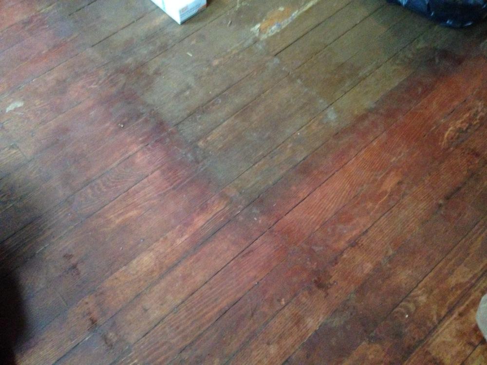 two tone floor
