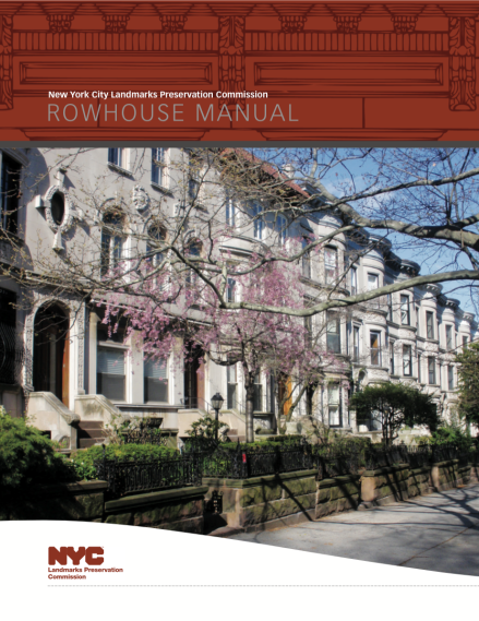 Row House Manual Cover