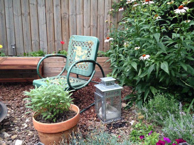 backyard chair