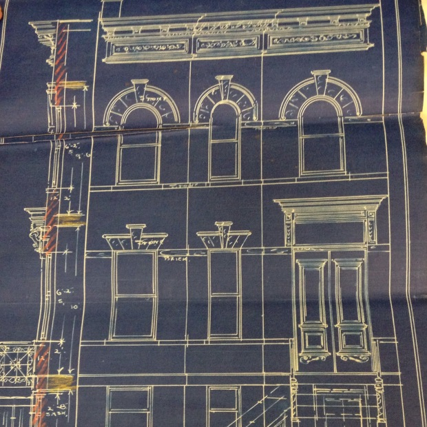 Original brownstone house plans a pink brownstone in for Brownstone home designs